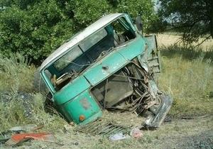 В Донецкой области в результате ДТП погибли четверо человек