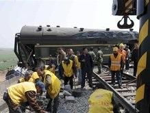 В Китае столкнулись два поезда: 66 погибших, 247 пострадавших