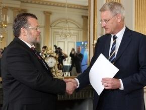 В Швеции прошла церемония вручения заявки Исландии на членство в ЕС