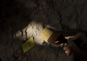 В Японии нашли останки молящегося воина