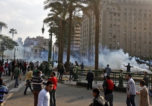 Беспорядки в Каире: один человек погиб, сотни ранены