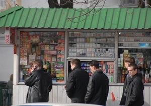 В Шевченковском районе Киева планируют установить 500 киосков