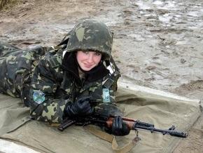 В украинской армии служат и работают 50 тыс. женщин