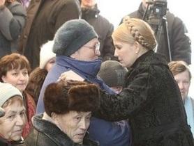 Тимошенко: Я не позволю повысить пенсионный возраст украинцев