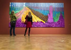 Картины в технике iPad: грандиозная выставка Дэвида Хокни в Кельне