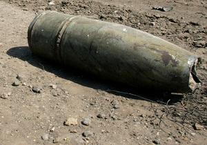 В Новобогдановке в результате взрыва снаряда пострадал мужчина