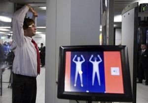 В аэропорту Хитроу установили  раздевающие  сканеры