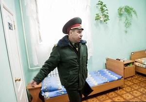 Начальник колонии: Холодильник Тимошенко полностью забит едой