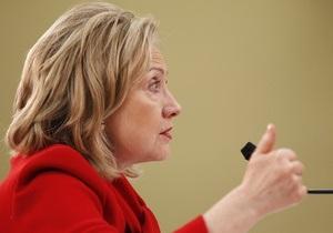 Клинтон заявила о приостановлении отношений с ливийским посольством