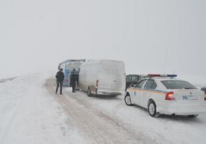 ГАИ настоятельно просит водителей воздержаться от поездок