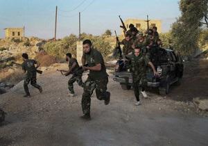 Правозащитники назвали потери войск Асада в сражениях с повстанцами в Дамаске