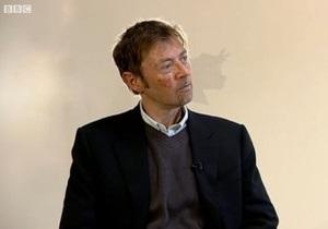 Корреспондент.net продолжает сбор вопросов лауреату Букеровской премии Ди Би Си Пьеру