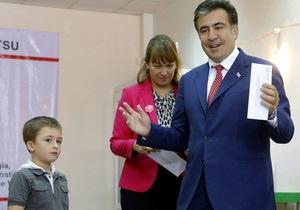 Экзит-поллы: на выборах в Грузии лидирует оппозиция
