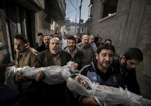 Главный приз World Press Photo-2012 получил автор снимка погибших палестинских детей