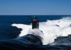 В районе Корейского полуострова замечена атомная подлодка США