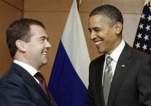 Неформальная встреча Обамы и Медведева в Лиссабоне была  очень сердечной  - Белый дом