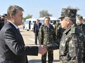 Источник: Начальник Генштаба станет советником Ющенко