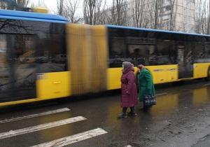 Киевские власти планируют купить 370 автобусов и троллейбусов в этом году