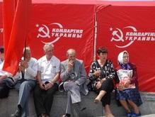 В Запорожье сторонники КПУ и НУ подрались из-за Дзержинского
