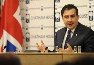 Горячий и воинственный: Саакашвили нашел в себе сходство с Черчиллем