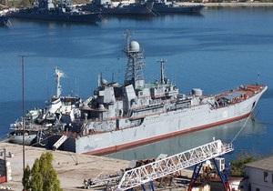 Ъ: В Керченском порту российский корабль обвинили в нарушении правил прохождения пролива