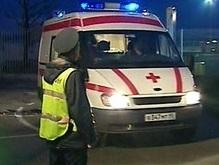 В Москве милиционер сбил трех девушек на пешеходном переходе
