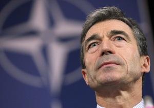 Расмуссен обещает Боснии и Герцеговине поддержку на пути вступления в НАТО