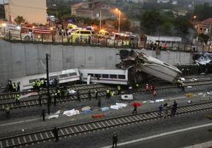 Умерла еще одна пострадавшая в аварии поезда в Испании