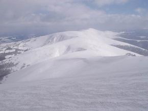 На Закарпатье сошла первая этой зимой снежная лавина