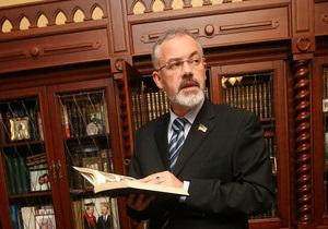 Табачник утвердил Вакарчука в должности ректора университета имени Франко