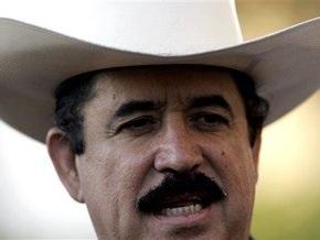 Изгнанный президент Гондураса призвал США поспособствовать его возвращению к власти
