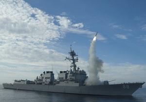 В Пентагоне заявили, что за пять дней по Ливии выпустили 162 ракеты Tomahawk