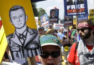 В США начинается суд над рядовым за утечки для Wikileaks
