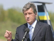 Ющенко увидел  машину будущего , а Луценко  подклеил ее изолентой