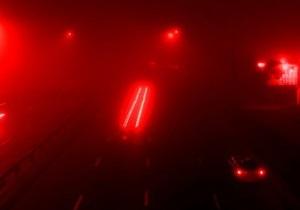 Украину накрыл туман: ГАИ просит водителей быть предельно внимательными на дорогах
