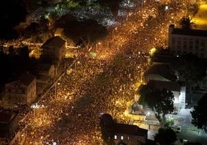 В Израиле на демонстрацию против роста цен вышли 200 тысяч человек