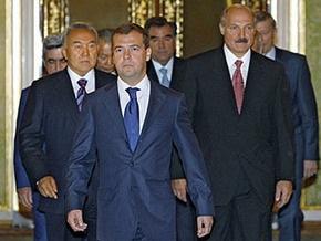 Сегодня будет создан тройственный Таможенный союз России, Беларуси и Казахстана