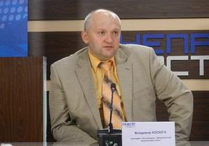 Мэром Алчевска избран регионал Владимир Косюга