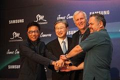 Глава кинокомпании DreamWorks заинтересовался 3D-разработками Samsung