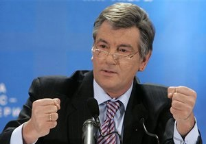Ющенко- Наша Украина - Ющенко об исключении из Нашей Украины: Это все интриги бездарностей