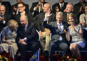 Бельгия - Филипп взойдет на престол в день национального праздника