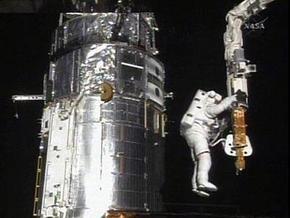 Экипаж Atlantis завершил ремонт телескопа. Астронавты прощаются с Hubble
