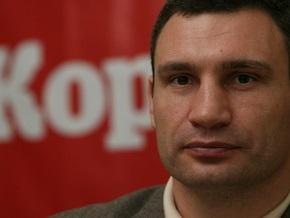 Кличко заявил в милицию на Черновецкого с его  законными взятками