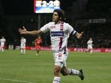 Французская Лига 1: Лион проигрывает но остается лидером