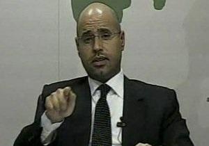 Сын Муаммара Каддафи позвал в Ливию правозащитников