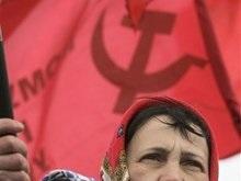 Полторы сотни киевских коммунистов собрались у памятника Ленину