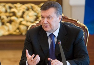 Янукович: ЧАЭС может стать эксперементальной площадкой для робототехники