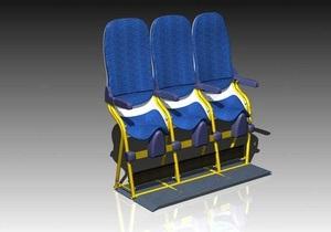Итальянская компания предлагает авиаперевозчикам установить в самолетах сиденья в форме седла