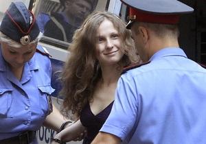 Суд отказал участнице Pussy Riot в условно-досрочном освобождении