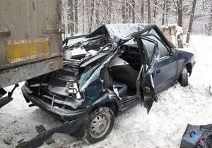 Сегодня в ДТП на киевском проспекте Палладина погибла женщина